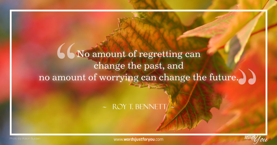 Inspirational Quote by Roy T. Bennett