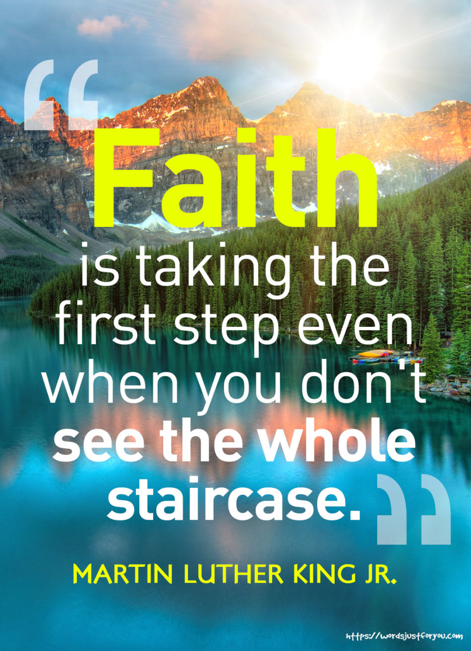 Famous Quotes by Martin Luther King Jr about Faith