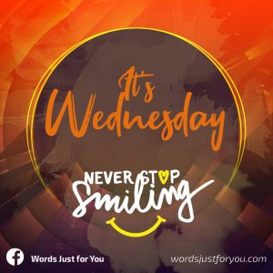 It's Wednesday card