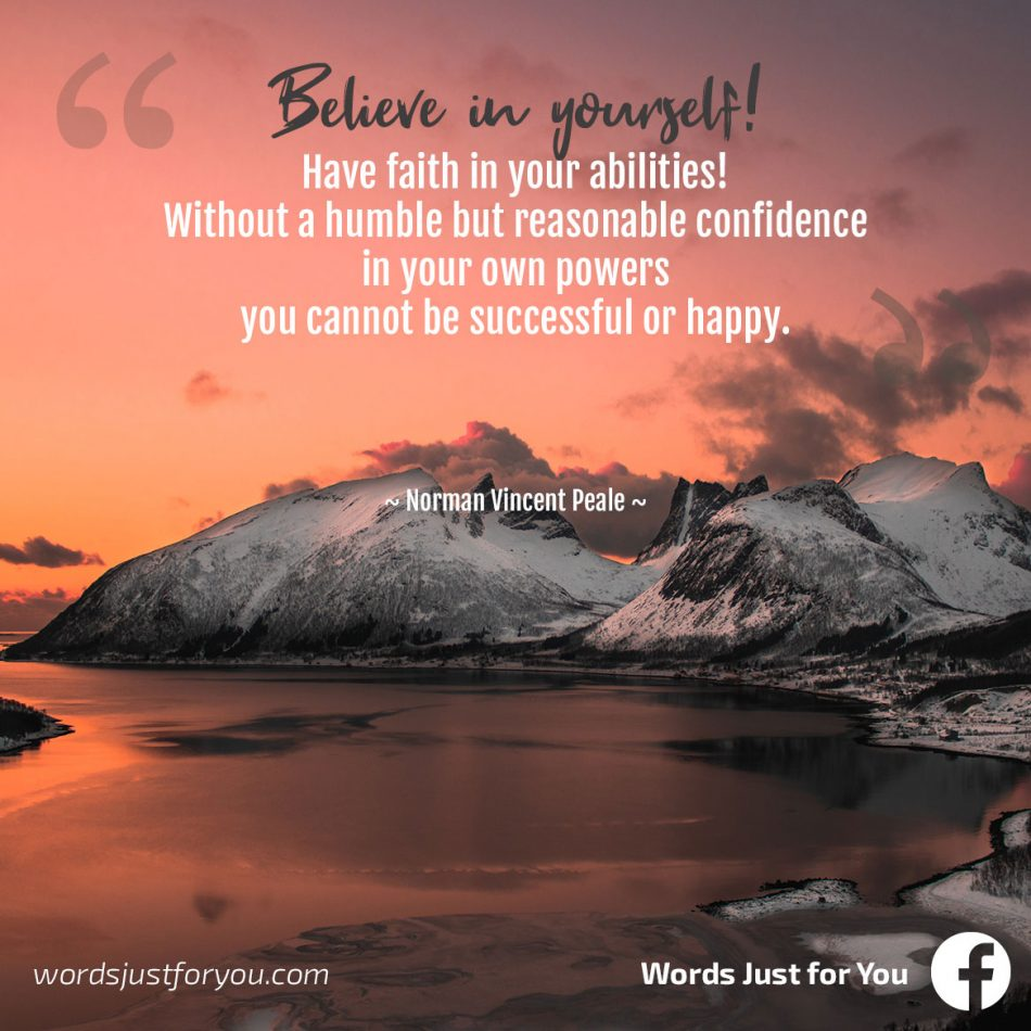 Motivational Quote by Norman Vincent Peale