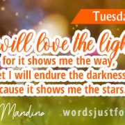 Happy Tuesday Quote by Og Mandino