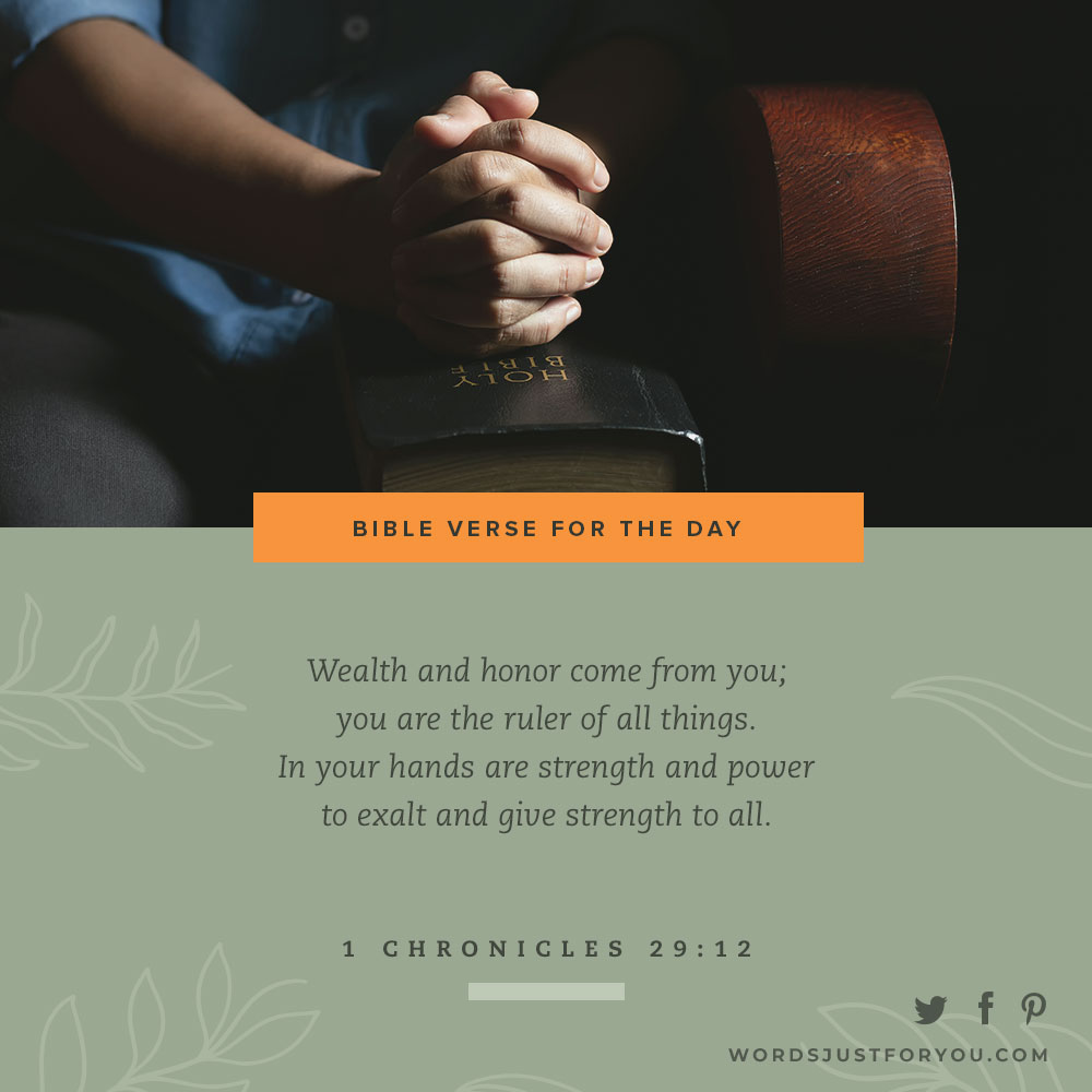 Bible Verse for the Day